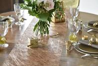 rosegold šepa na stůl