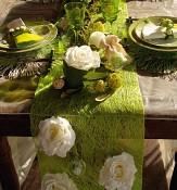 Šerpa z abaky na stole