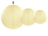 velký ivory lampion k dekoraci