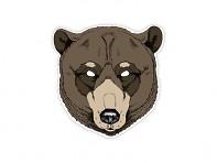 maska medvěda