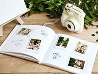 Svatební kniha hostů zlatý ornament