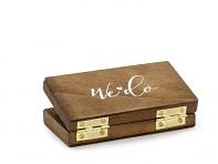 Dřevěný box na prstýnky