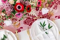svatební látkové ubrousky