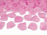 Konfety růžové plátky růží