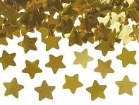 Vystřelené zlaté hvězdičky