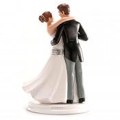 Svatební figurka na dort