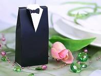 krabička na svatební mandle ženich