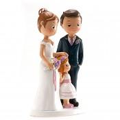 Svatební figurka rodina