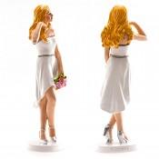 nevěsta blondýnka