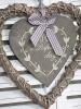 Proutěná dekorační srdce na svatební výzdobu