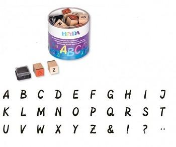 30 ks Razítka - abeceda