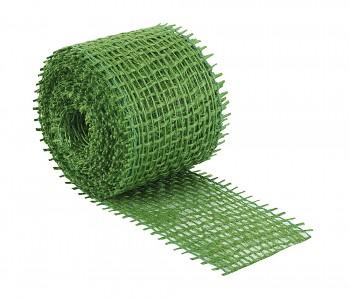 Jutová stuha zelená 40 mm x 3 m