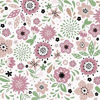 Ubrousky Modern floral 20 ks
