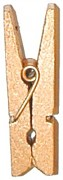 Kolíček medově zlatý 12 ks