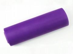 Tyl 15 cm x 9 m fialový