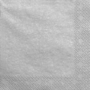 Ubrousky stříbrné 20 ks