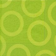 Ubrousky Circle světle zelené 20 ks