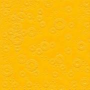 Ubrousky vytlačované sytě žluté 16 ks