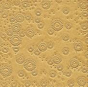 Ubrousky vytlačované zlaté 16 ks