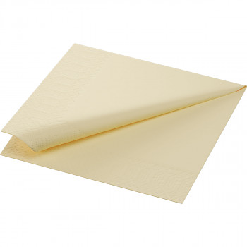 Ubrousky Duni 33x33 krémové 20 ks