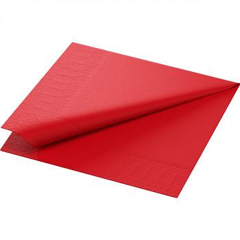 Ubrousky Duni 33x33 červené 20 ks