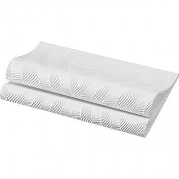 Ubrousky Dunilin Elegance Lily 40x40 bílé 10 ks