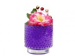 Gelové vodní perly fialové