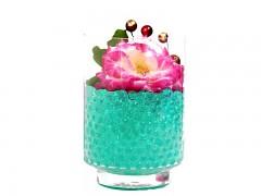 Gelové vodní perly tyrkysové