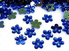 Aplikace modrá kytička 11 mm