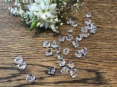 Krystalky čiré 40 ks
