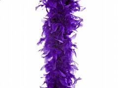 Péřové boa jasně fialové 180 cm