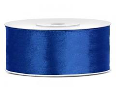 Stuha saténová královsky modrá 25 mm x 25 m