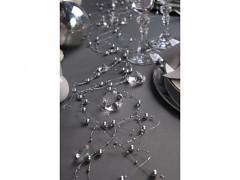 Perličky na silikonu stříbrné 5 x 1,3 m