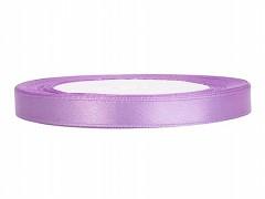 Stuha saténová fialová lila 6 mm x 25 m
