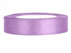 Stuha saténová fialová lila 12 mm x 25 m