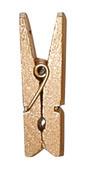 Kolíček mini medově zlatý