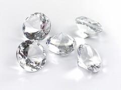 Diamanty čiré 30 mm