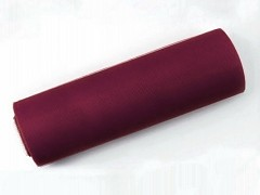 Tyl 15 cm x 9 m burgundy