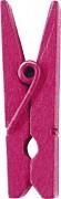 Kolíček sytě růžový