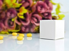 Krabička na svatební mandle bílá
