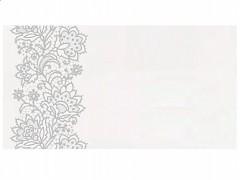 Svatební jmenovka stříbrný ornament