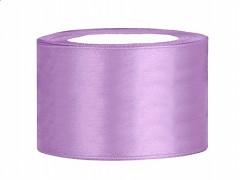 Stuha saténová fialová lila 38 mm x 25 m