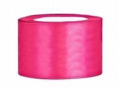 Stuha saténová sytě růžová 38 mm x 25 m