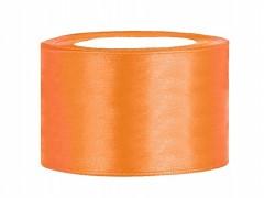 Stuha saténová oranžová 38 mm x 25 m