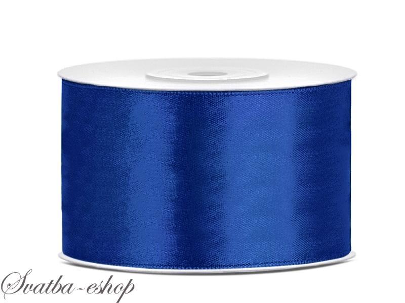 Stuha Satenova Kralovsky Modra 38 Mm X 25 M Modre Satenove Siroke