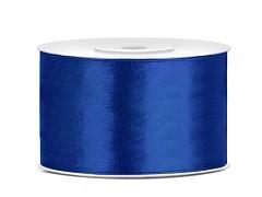 Stuha saténová královsky modrá 38 mm x 25 m