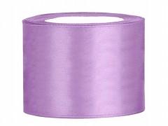 Stuha saténová fialová lila 50 mm x 25 m