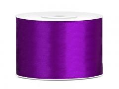 Stuha saténová fialová 50 mm x 25 m