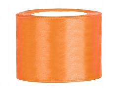 Stuha saténová oranžová 50 mm x 25 m