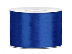 Stuha saténová královsky modrá 50 mm x 25 m